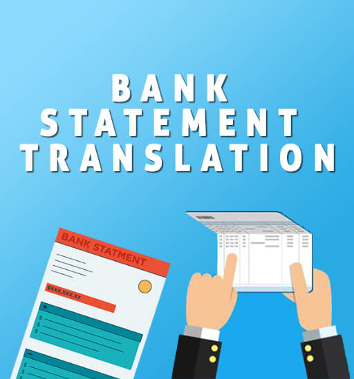 Bank Statement Translations