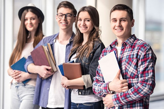Attracting a diverse student body and research commercialisation.