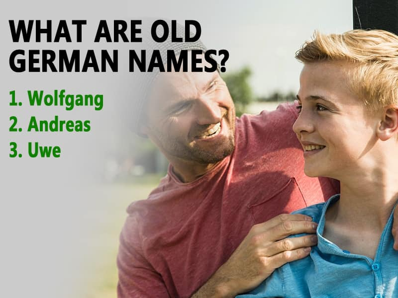 What are old German names?